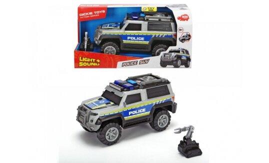 ג'יפ משטרה כולל רובוט חבלה