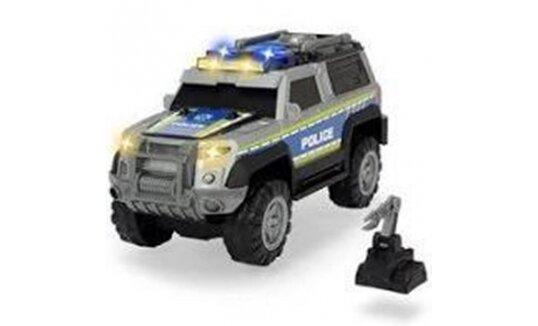 ג'יפ משטרה כולל רובוט