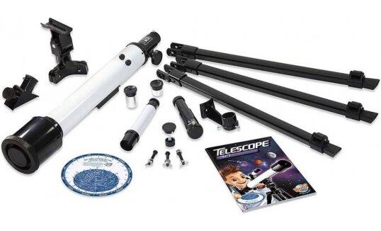 ערכת מדע טלסקופ 30 פעילויות מבית בוקי, צרפתd