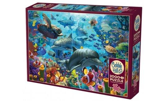 פאזל 2000 חלקים מתחת לים