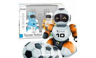 זוג רובוטים של כדורגל עם שלט