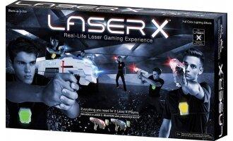 זוג רובי לייזר טאג עם אפודים LASER X רבולושיון