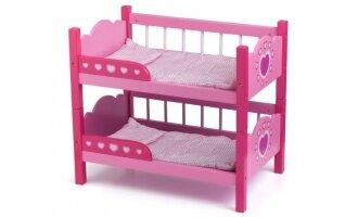 מיטת קומותיים עץ לובה