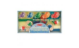 משחק דיג ללימוד מספרים מעץ