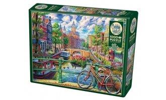 פאזל 1000 חלקים נוף אמסטרדם