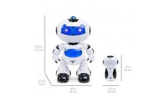 רובוט רוקד עם אורות